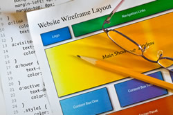 Website Wireframe Layout