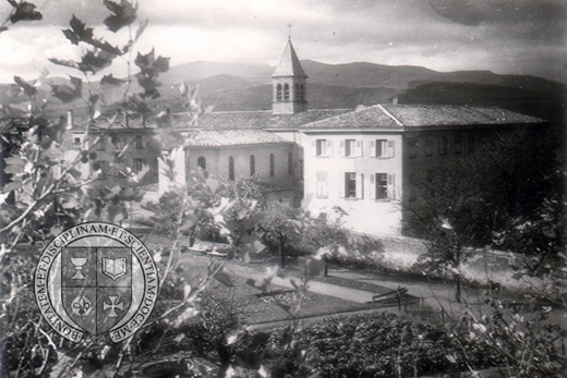 Old photo of College Prives Sacre
