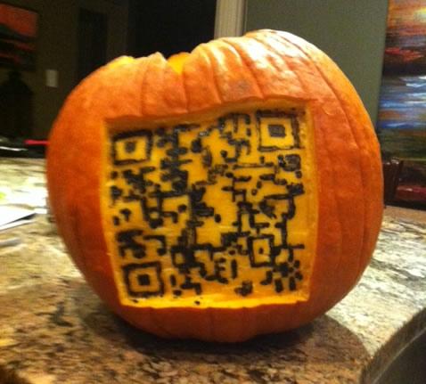 QR Code Pumpkin