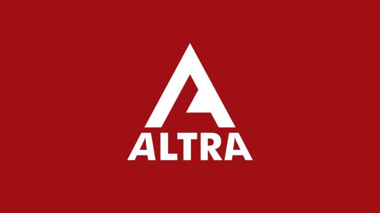 ALTRA Construction Logo Design