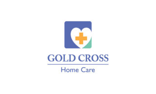 Gold Cross Home Care Logo Design