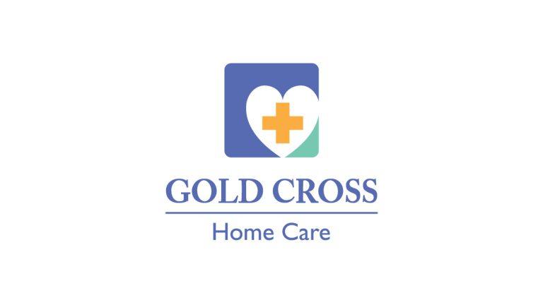 Gold Cross Home Care Logo Design