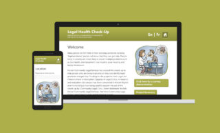 Legal Health Checkup Website Design