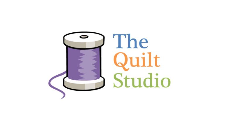 The Quilt Studio Logo Design