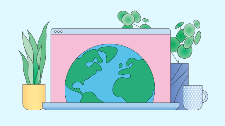 Low-carbon website design