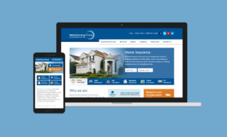 Neziol Insurance Website Design