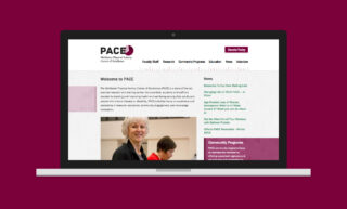 PACE Website Design