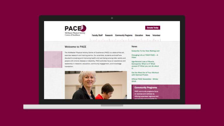 PACE Website Design