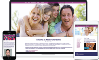 Meadowlands Dental Website Design