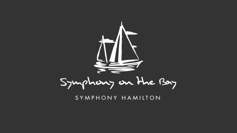 Symphony on the Bay Logo Design