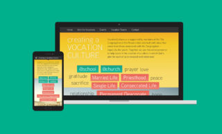 Vocation Culture Website Design