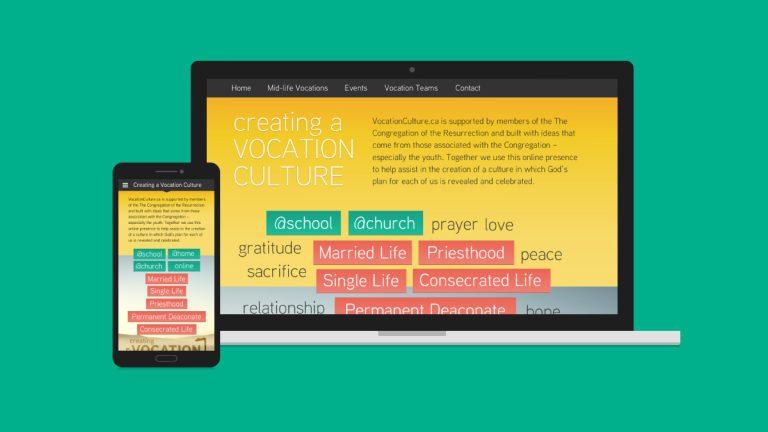Vocation Culture Website Design