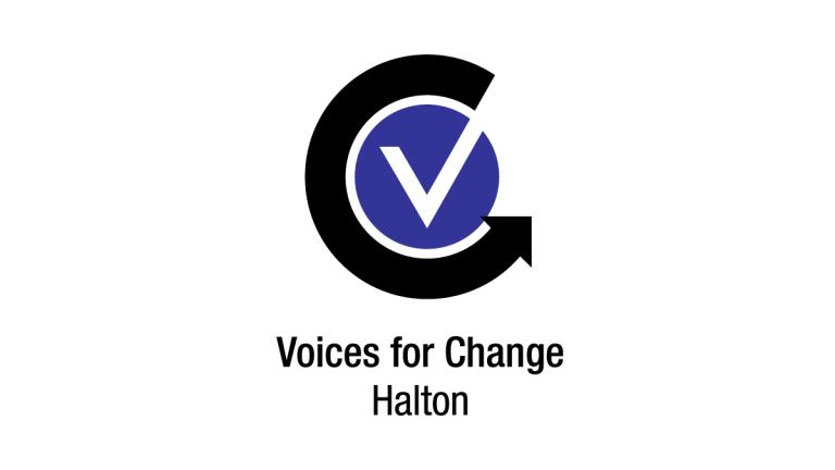 Voices for Change Halton Logo Design