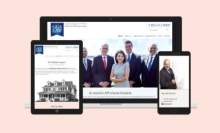 GGS Law Website Design