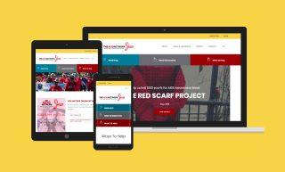 AIDS Network Website Design