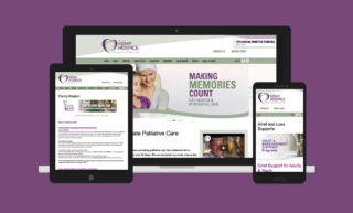 Bob Kemp Hospice Website Design
