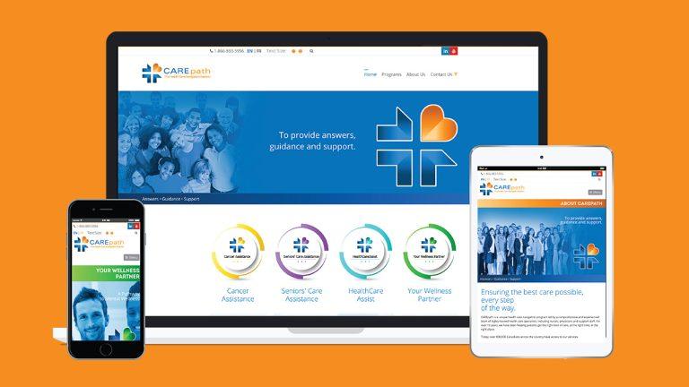 CAREpath Website Design