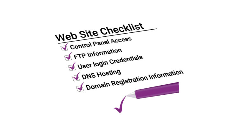 Website Hosting Checklist