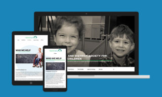 Hamilton District Society or Disables Children Website Design