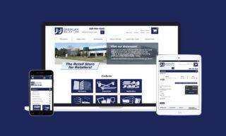 J&J Displays Website Design