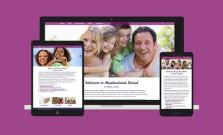 Meadowlands Dental Website Design