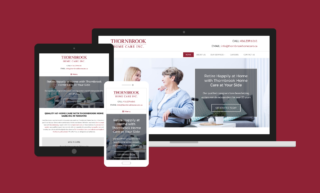 Thornbrook Home Care Website Design