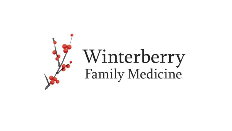 Winterberry Family Medicine Logo Design