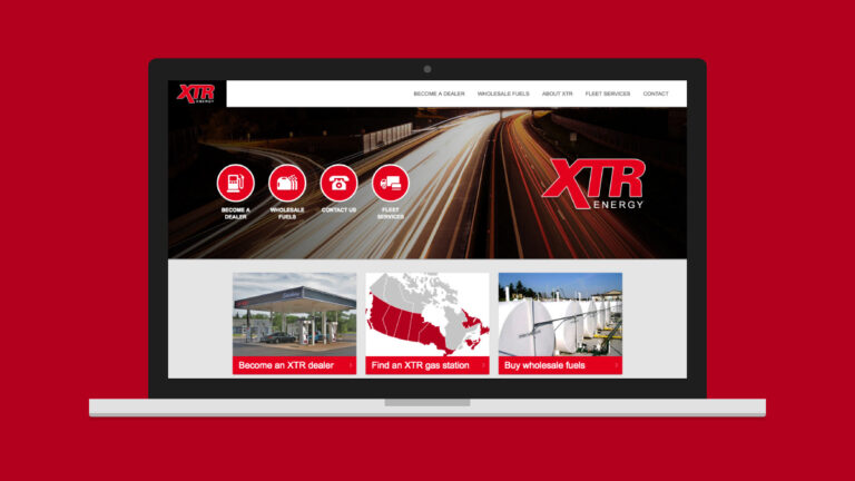 XTR Energy Website Design
