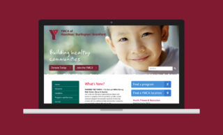 YMCA Website Design