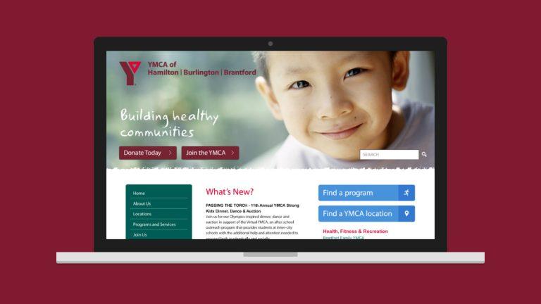 YMCA Website Design